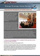 Corporate Risk Management & Portfolio Balancing